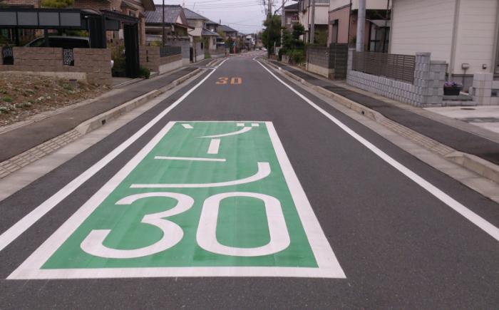 埼玉県深谷市岡里地区のゾーン30