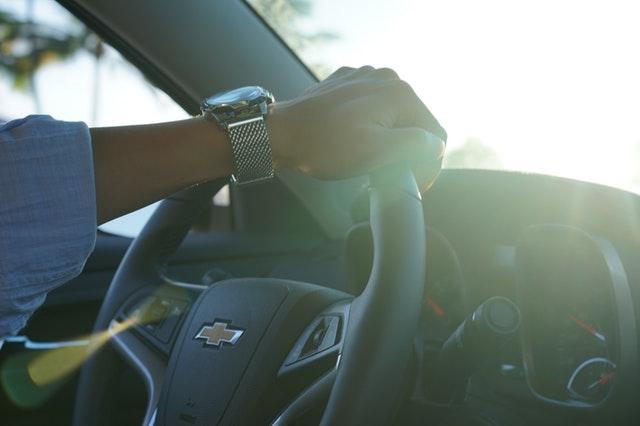 冷静な運転