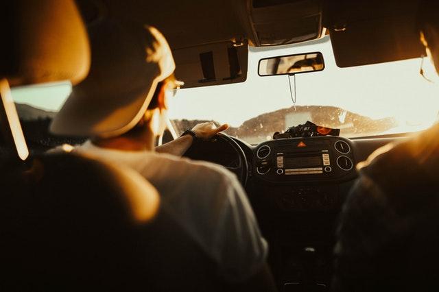 レンタカー運転中の交通事故